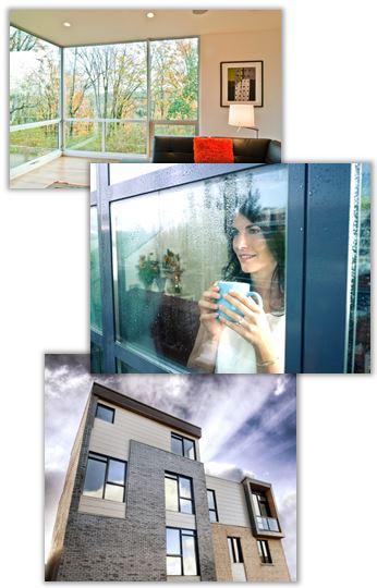 Aluminiumfönster i Göteborg