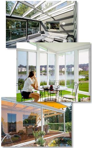 Inglasade uterum och balkonger i Göteborg