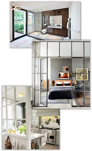 Glasvägg inomhus kostnad