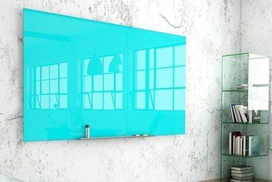 Whiteboard i glas